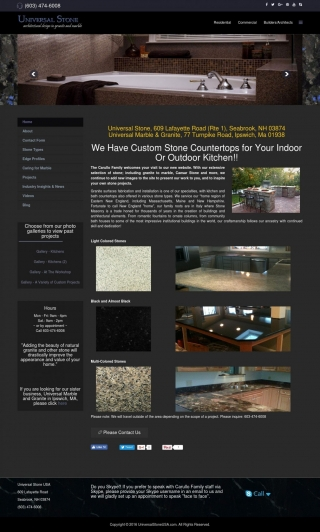 Granite Countertops Fabrication and Installation - Universal Stone in MA and NH